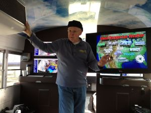 Inside the Weatherbus